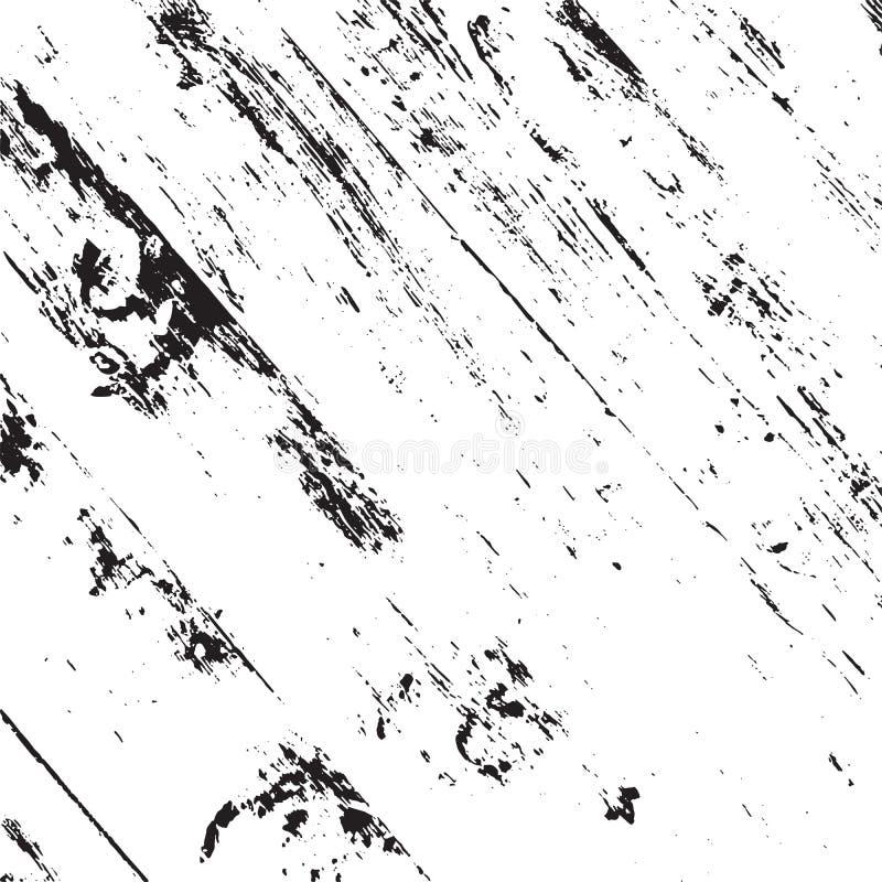 Houten diagonale planken stock illustratie