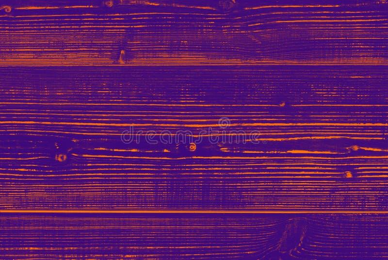 Houten die oppervlakte in purpere kleur wordt geschilderd stock foto's