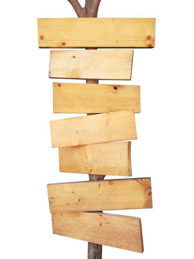 houten die restaurantuithangbord op wit wordt geïsoleerd stock foto's
