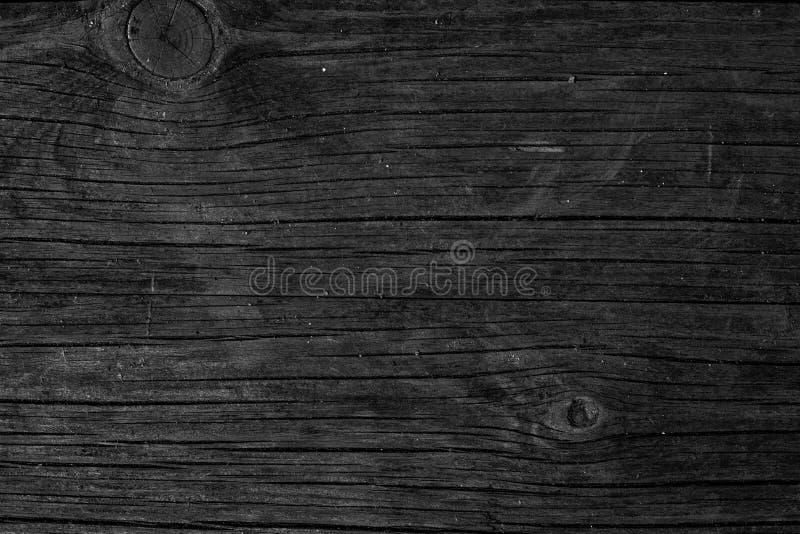 Houten Donkere textuur als achtergrond Spatie voor ontwerp stock foto