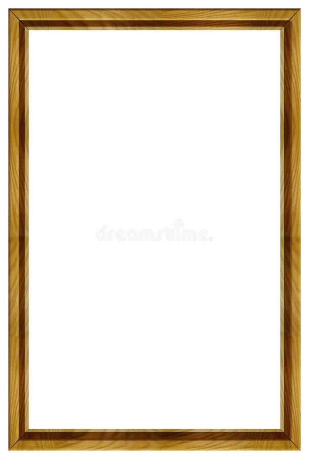 Houten Frame royalty-vrije stock foto