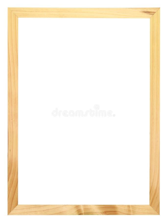 Houten frame vector illustratie