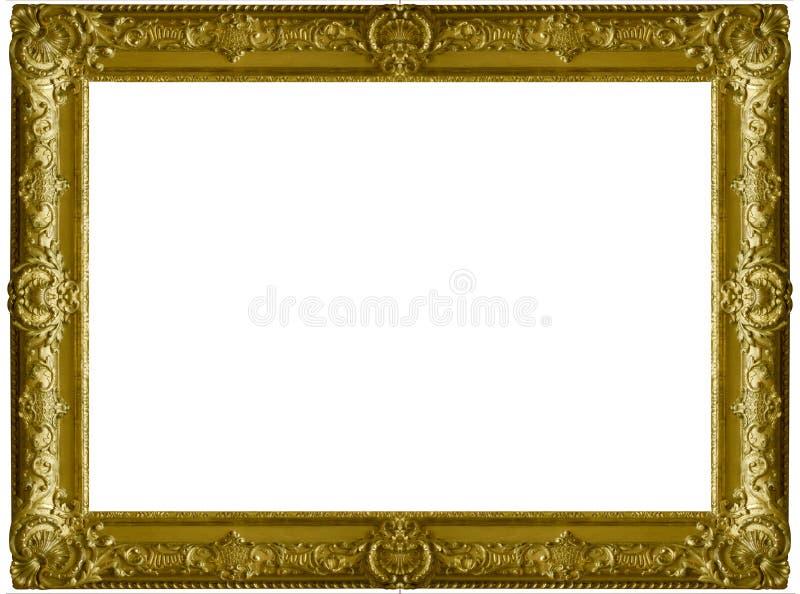 Houten frame royalty-vrije stock afbeeldingen