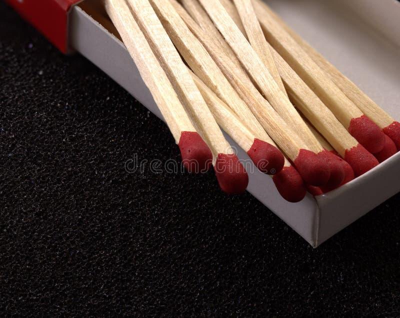 Houten gelijken voor vuren stock foto's