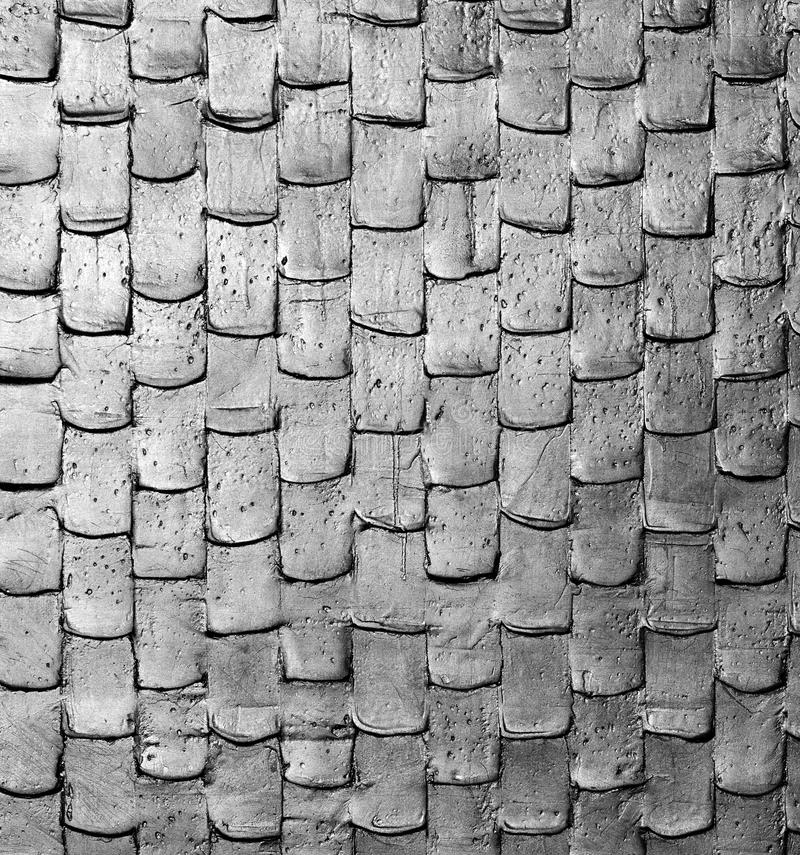 Geweven hout royalty-vrije stock fotografie