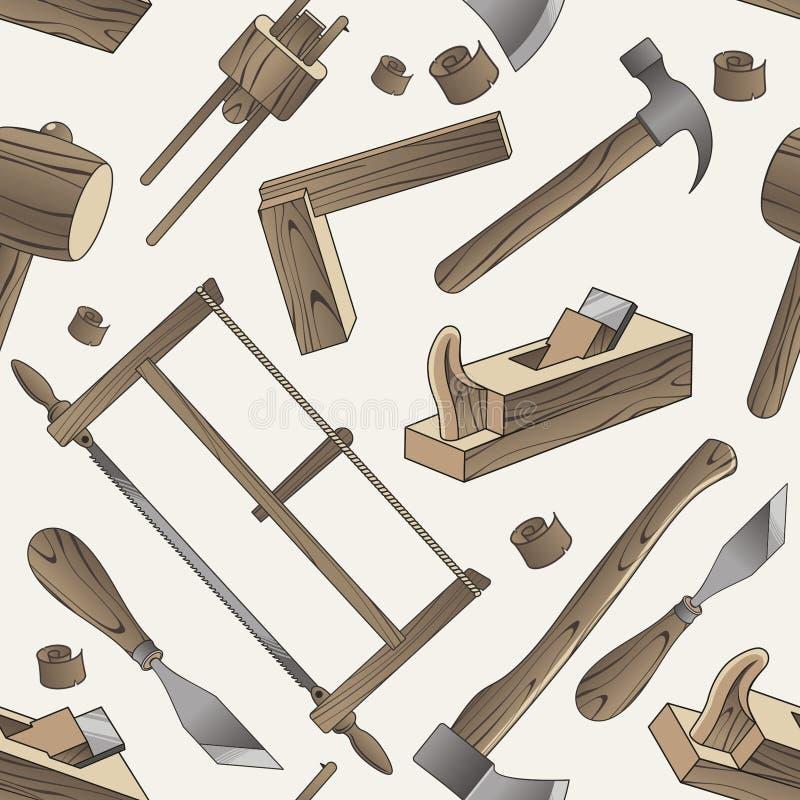 Houten Hulpmiddel stock illustratie
