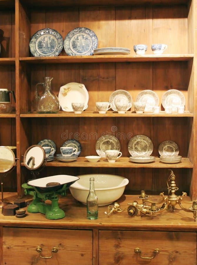 Houten kabinet royalty-vrije stock fotografie