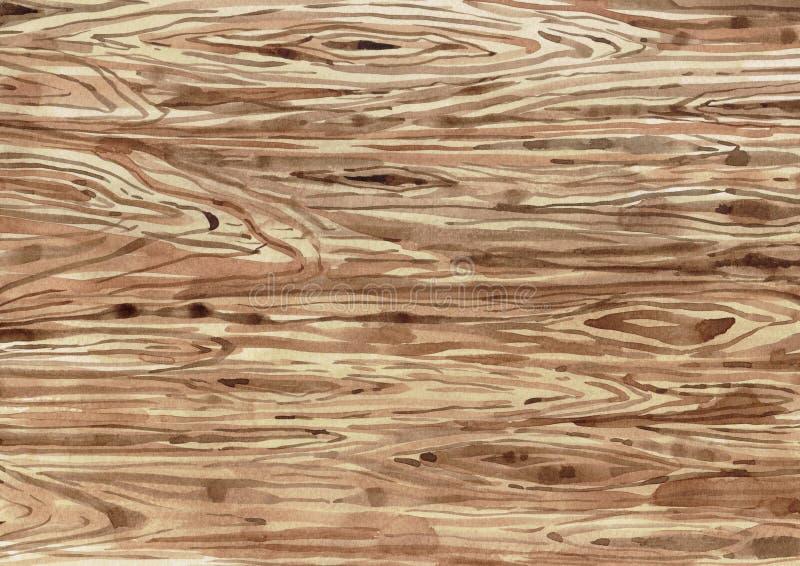 Houten knipsel board1 stock illustratie