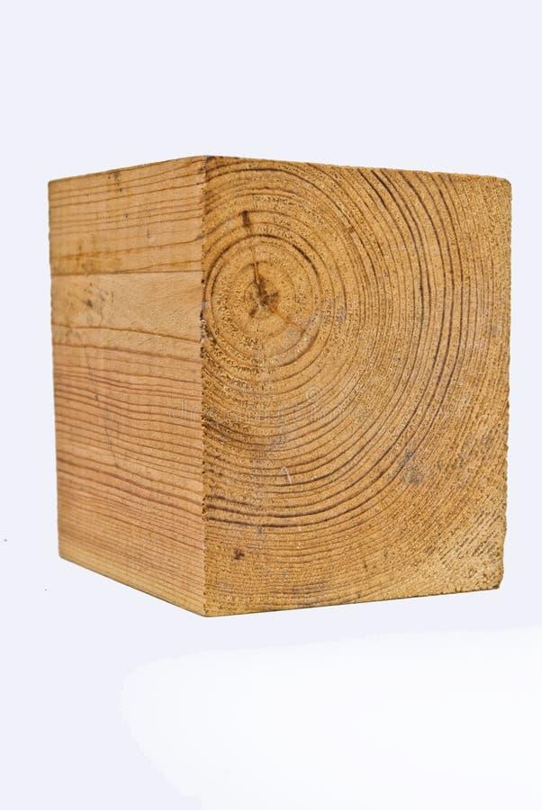 Houten kubus stock afbeeldingen