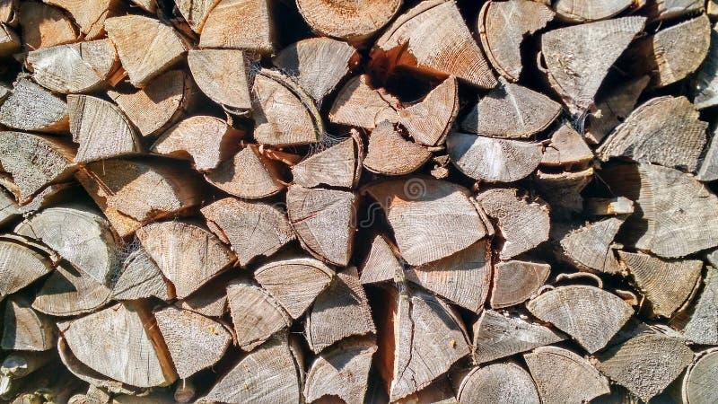 Houten logboekentextuur royalty-vrije stock foto