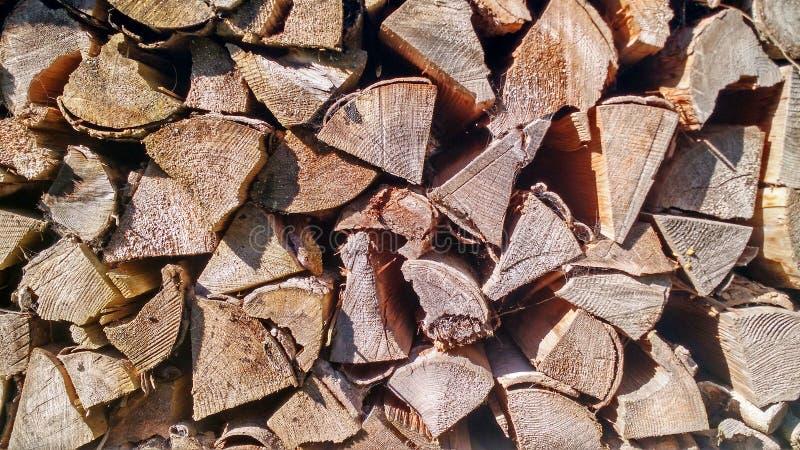 Houten logboekentextuur stock fotografie