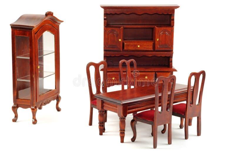Houten meubilair stock foto