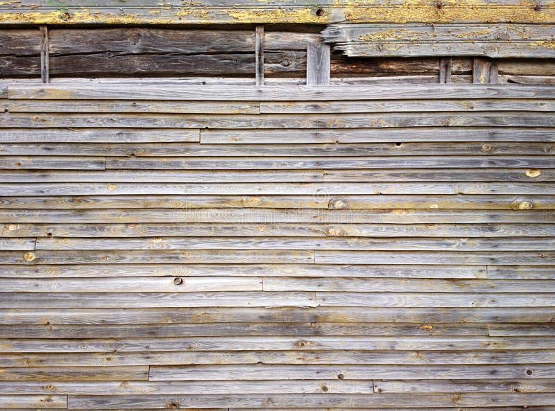 Houten muur stock foto