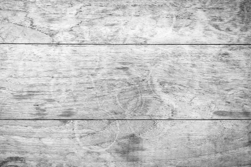 Houten muurtextuur op zwart-witte rustieke achtergrond stock foto