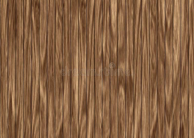 Houten omheining of vloerpatroon als achtergrond vector illustratie