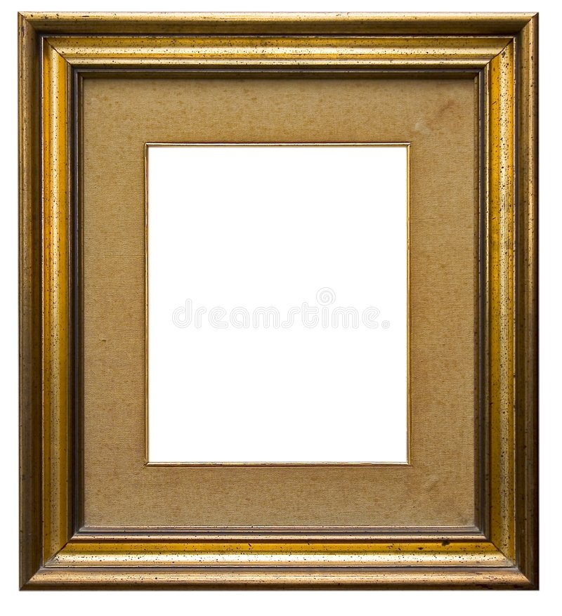 Houten omlijsting royalty-vrije stock foto