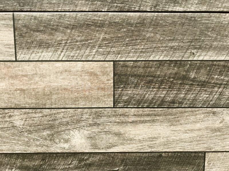 Houten oppervlakte Houten textuur op steen concrete bevloering houten die textuurachtergrond in bouw voor het bedekken wordt gebr royalty-vrije stock afbeeldingen