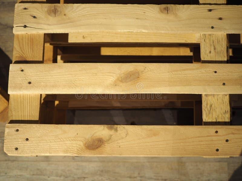 houten palletsteunbalk stock foto's