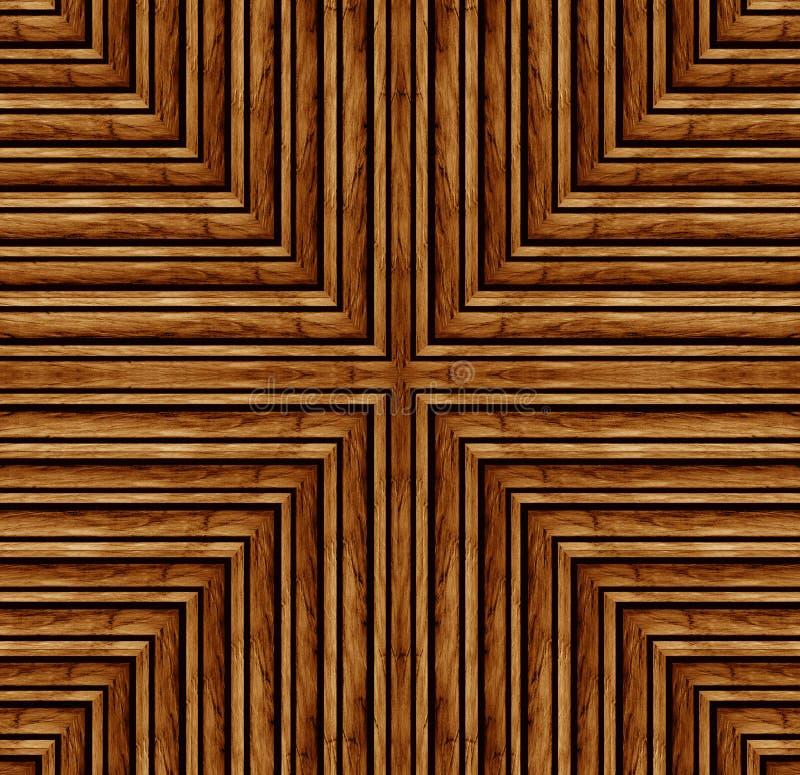 Houten patroon royalty-vrije illustratie