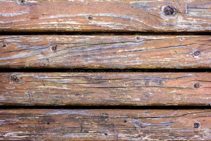 Houten plaat van oude bruine raad stock afbeeldingen