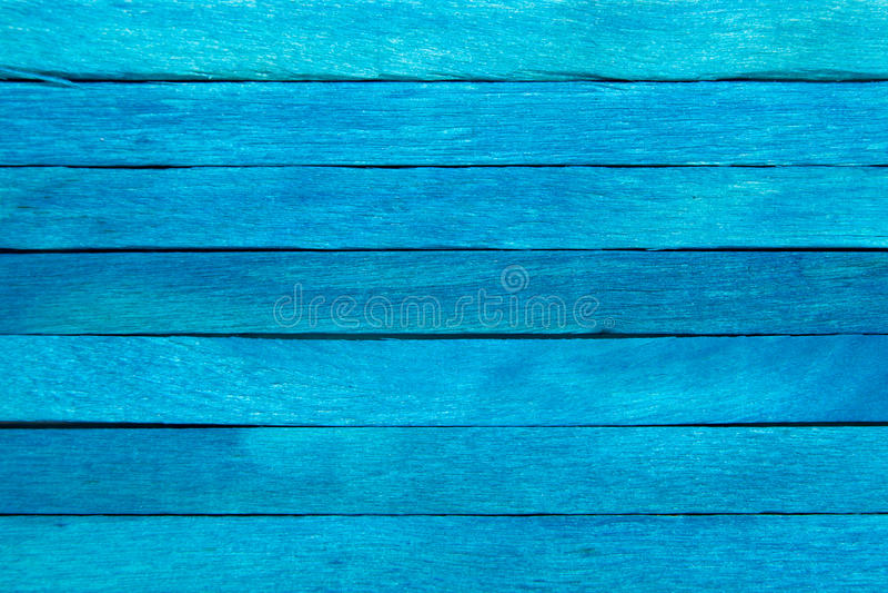 Houten plank blauwe achtergrond stock afbeelding