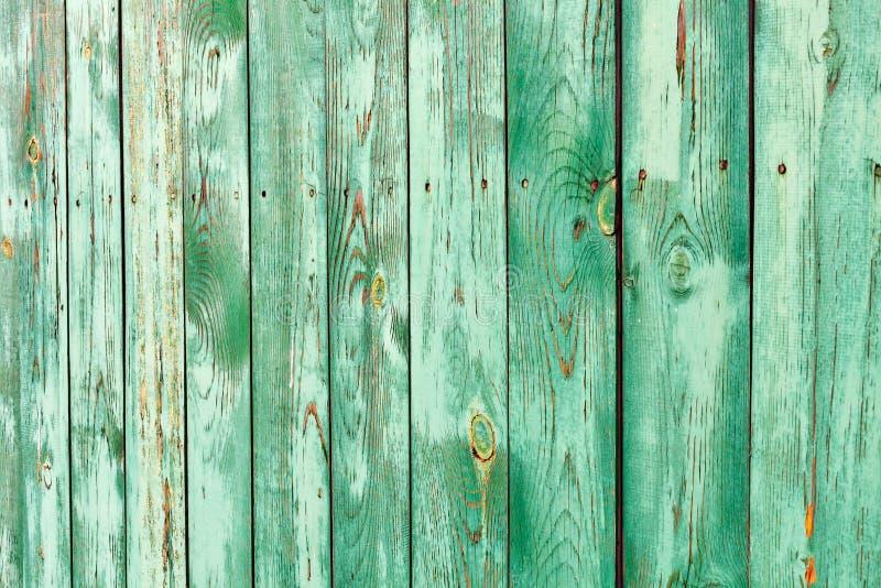 Houten planken groen als textuur en achtergrond groen omheiningsfragment de ruimte van het - Groen behang van het water ...