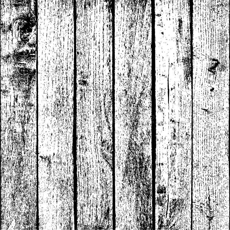 Houten Plankenbekleding royalty-vrije illustratie