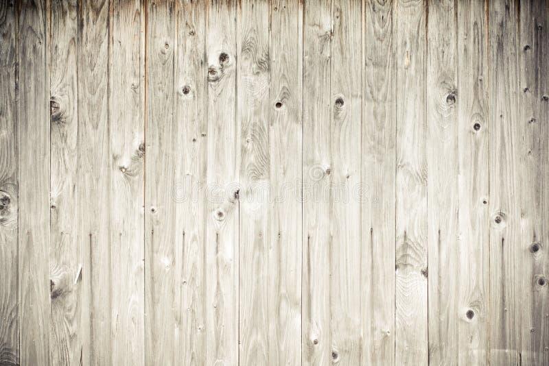 Houten plankomheining stock afbeelding