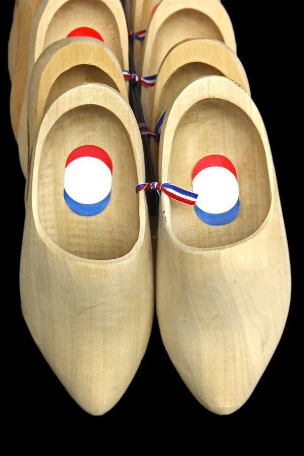 Houten schoenen van Holland royalty-vrije stock afbeelding
