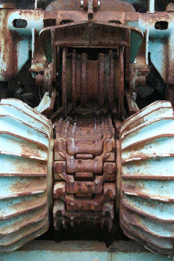 Houten Shredder2 royalty-vrije stock afbeeldingen