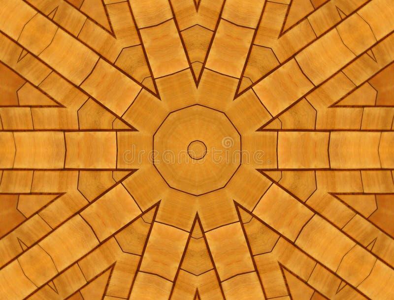Houten tegels stock foto
