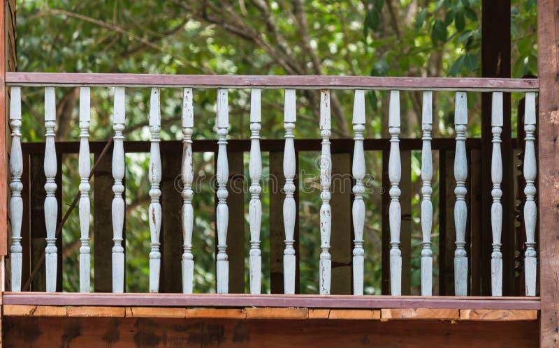 Houten terras royalty-vrije stock afbeelding