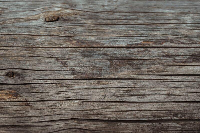 Houten textuur of houten achtergrond Hout voor binnenlandse buitendecoratie Grunge donkere abstracte houten achtergrond Oude brui stock afbeelding