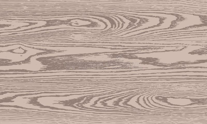 Houten textuur bruine achtergrond Droge Houten royalty-vrije illustratie