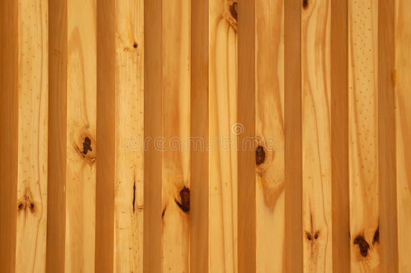 Houten textuur, de Rechte achtergrond van de strepen houten muur stock afbeelding