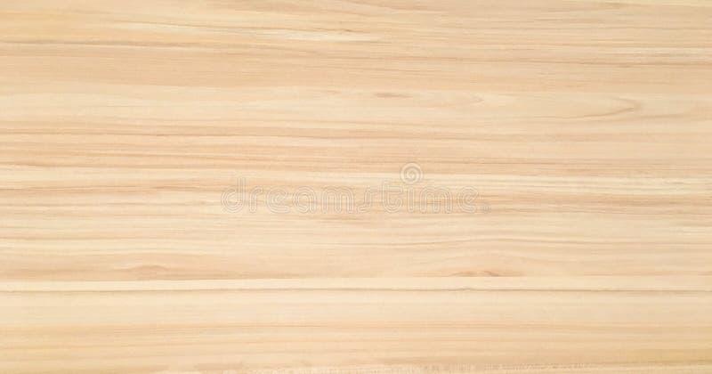 Houten Textuur oppervlakte van lichte houten achtergrond voor ontwerp en decoratie royalty-vrije stock foto