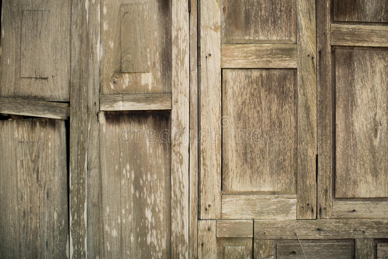 Houten Textuur oud blokhuis als achtergrond royalty-vrije stock foto's