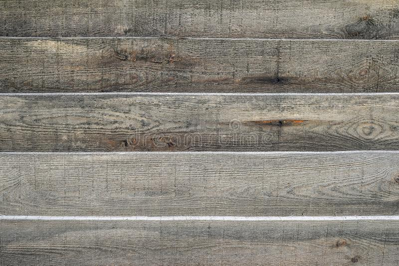 Houten textuur voor achtergrond of model Oude grijze houten textuur dichte omhooggaand De textuur van de schuurmuur of rustieke o royalty-vrije stock foto's