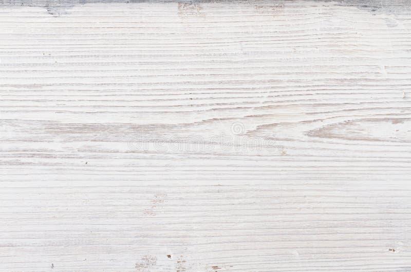 Houten textuur, witte houten achtergrond royalty-vrije stock fotografie