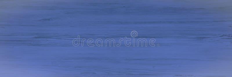 Houten textuurachtergrond, blauwe houten planken De Grunge gewassen houten hoogste mening van het lijstpatroon stock foto's