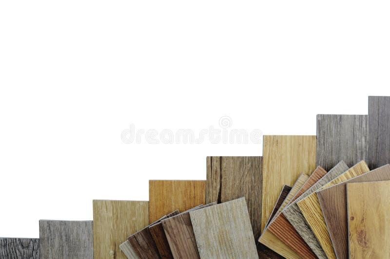 Houten textuurvloer: eiken tegel, esdoorntegel, kastanjetegel, okkernoot stock foto