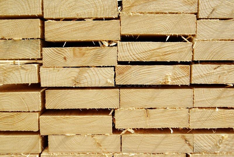 Houten timmerhout, achtergrond stock fotografie
