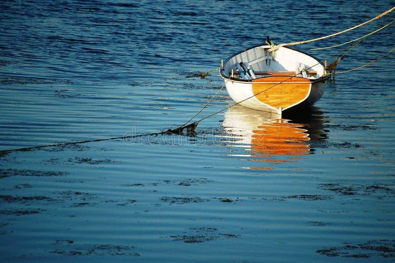 Houten Vissersboot stock foto's