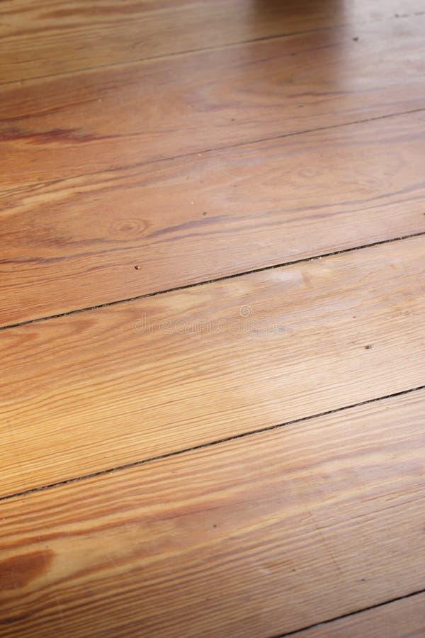 Houten vloer stock fotografie