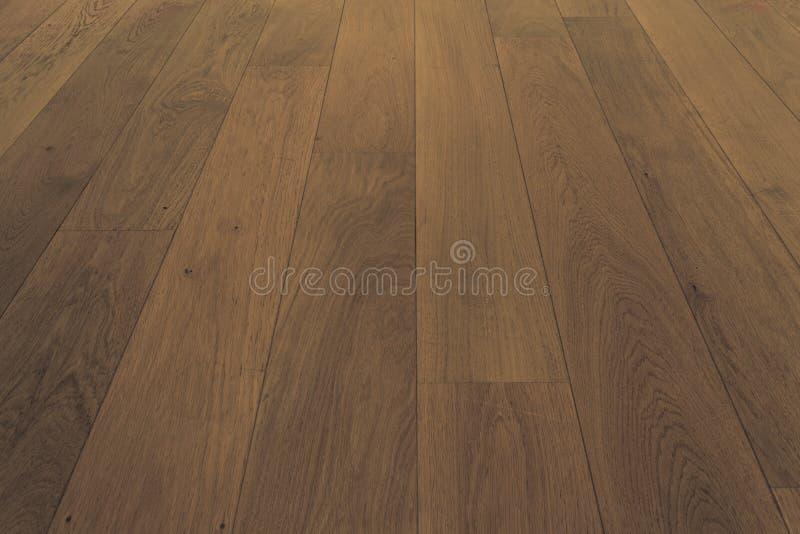Houten vloer, eiken parket - houten bevloering, eiken laminaat royalty-vrije stock foto's