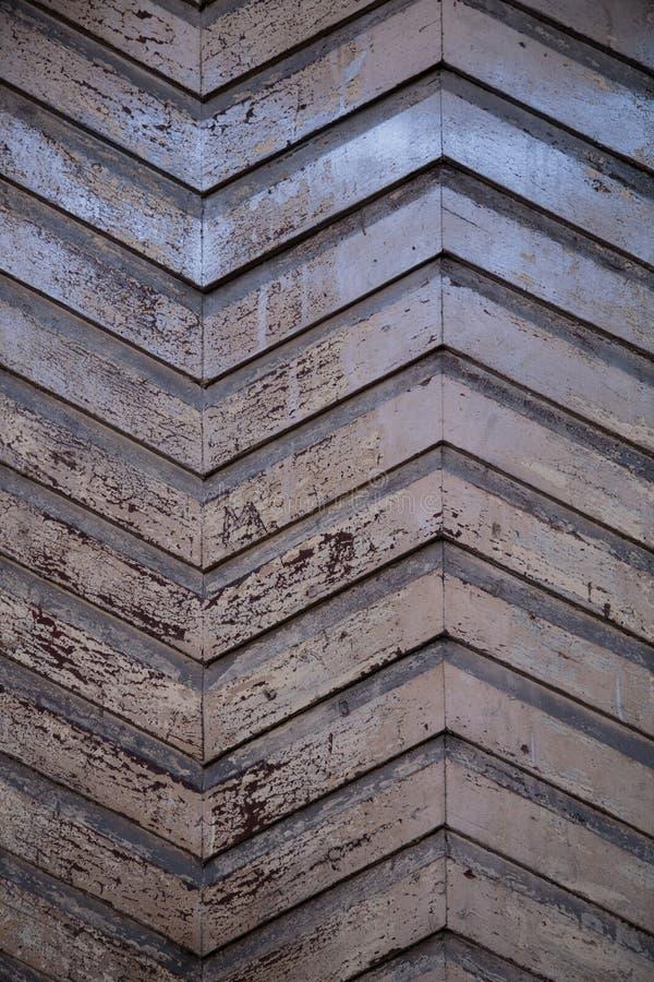 Houten Zigzag royalty-vrije stock foto