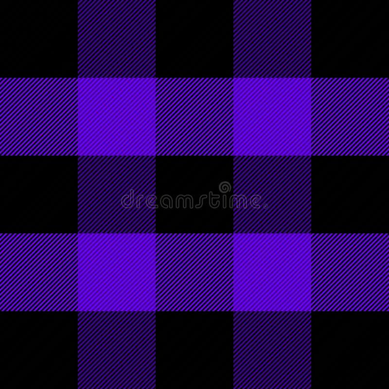 Houthakkersplaid Schotse kooiachtergrond vector illustratie
