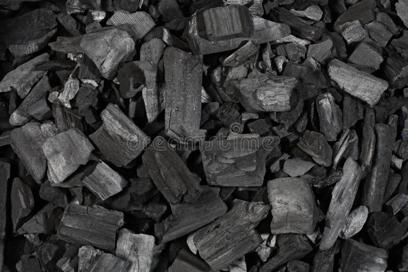 Houtskool royalty-vrije stock fotografie
