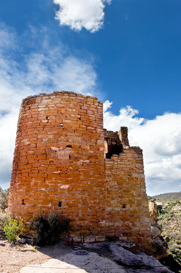 Hovenweep Castle Royalty Free Stock Image