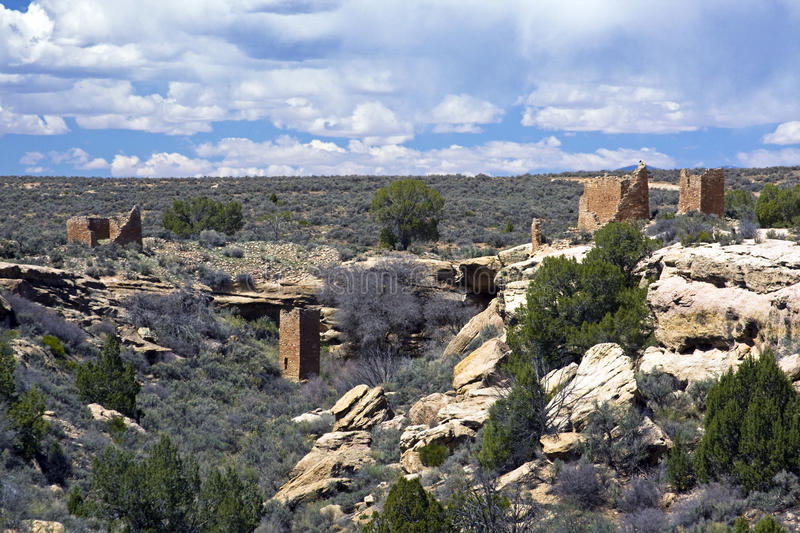 Hovenweep Nat.Monument fotografia de stock